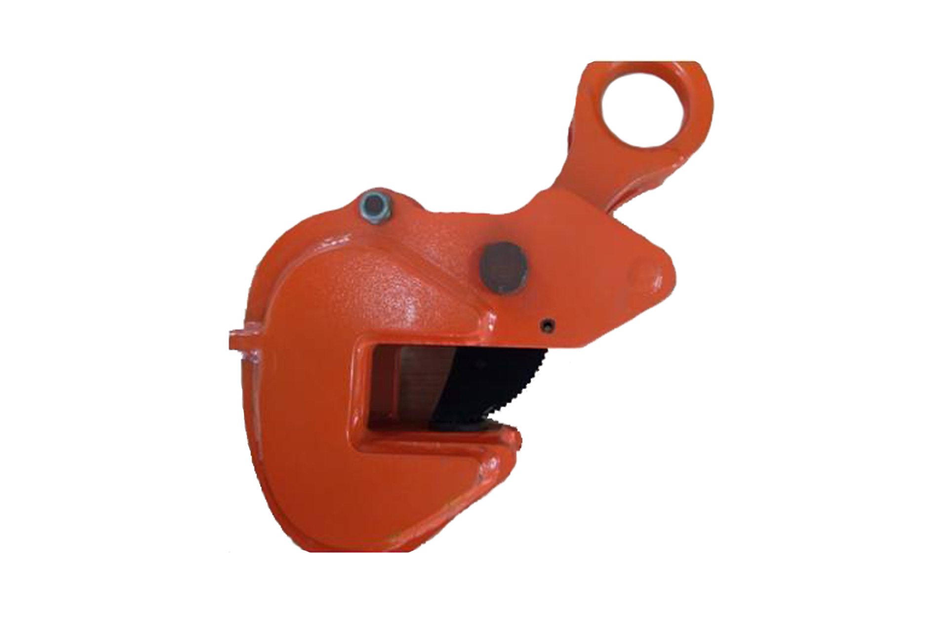 Horizontal plate lifting clamp with Safety lock