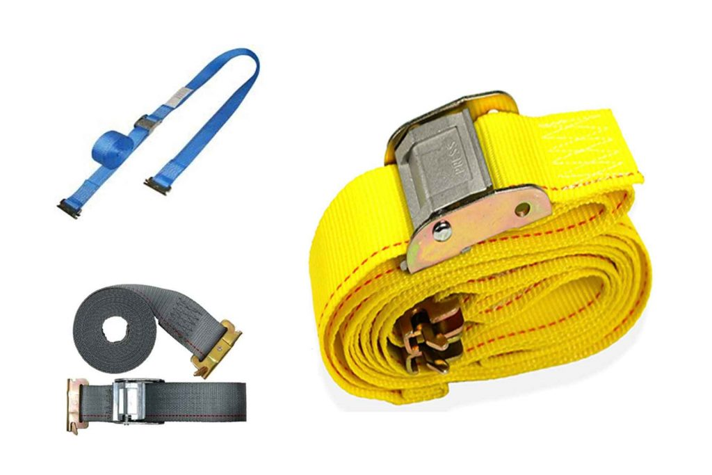 Series E Cam Buckle Straps with Spring End Fittings