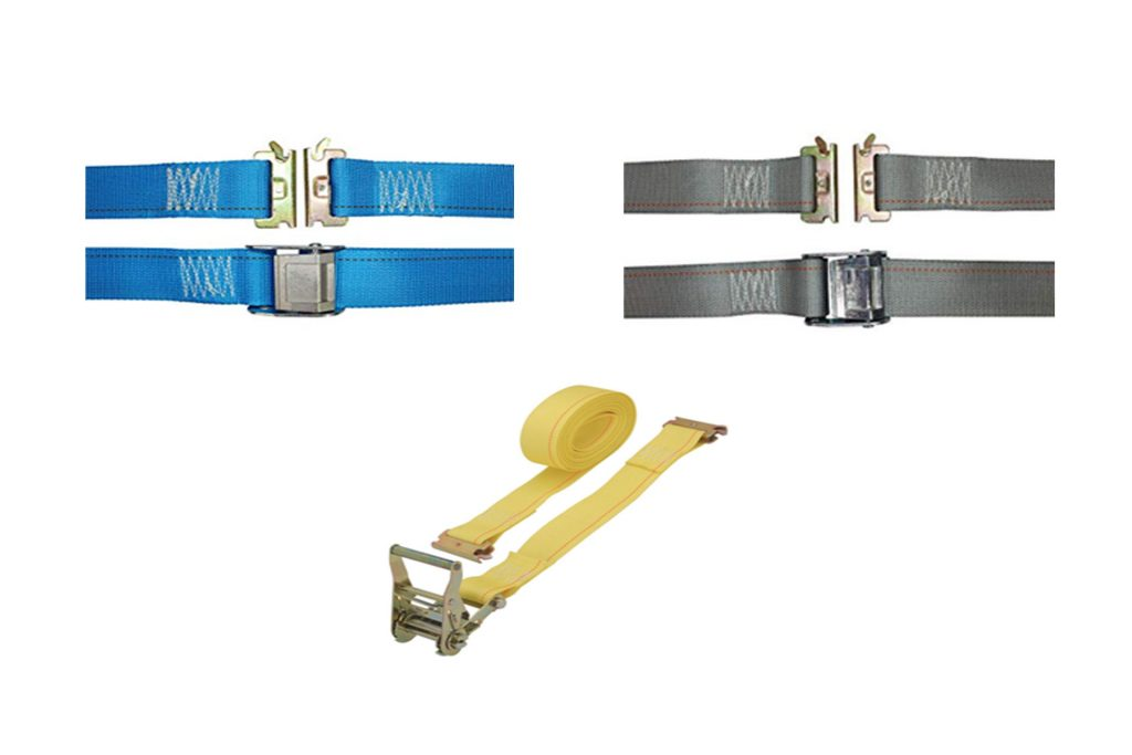 Series E Ratchet Buckle Straps with Spring End Fittings