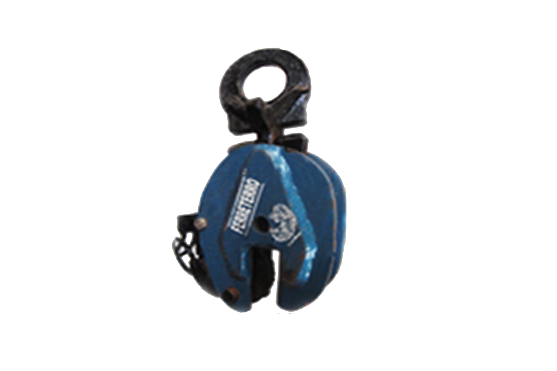 Vertical Plate Lifting Clamp with remote release & swivel handle